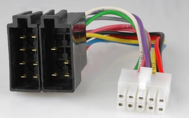 Adaptador para autorádio PHILIPS DC-316 -» ISO macho
