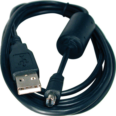 "Cabo USB ""A"" Macho - Mini USB 8P Macho c- Filtro - 1,80mt."