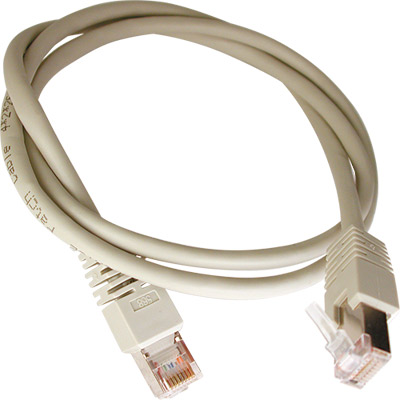 Cabo CAT5E FTP RJ45 Flexível - 0,50 mt - Blindado