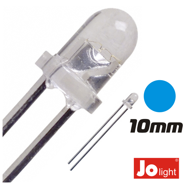 LED 10MM AZUL ALTO BRILHO